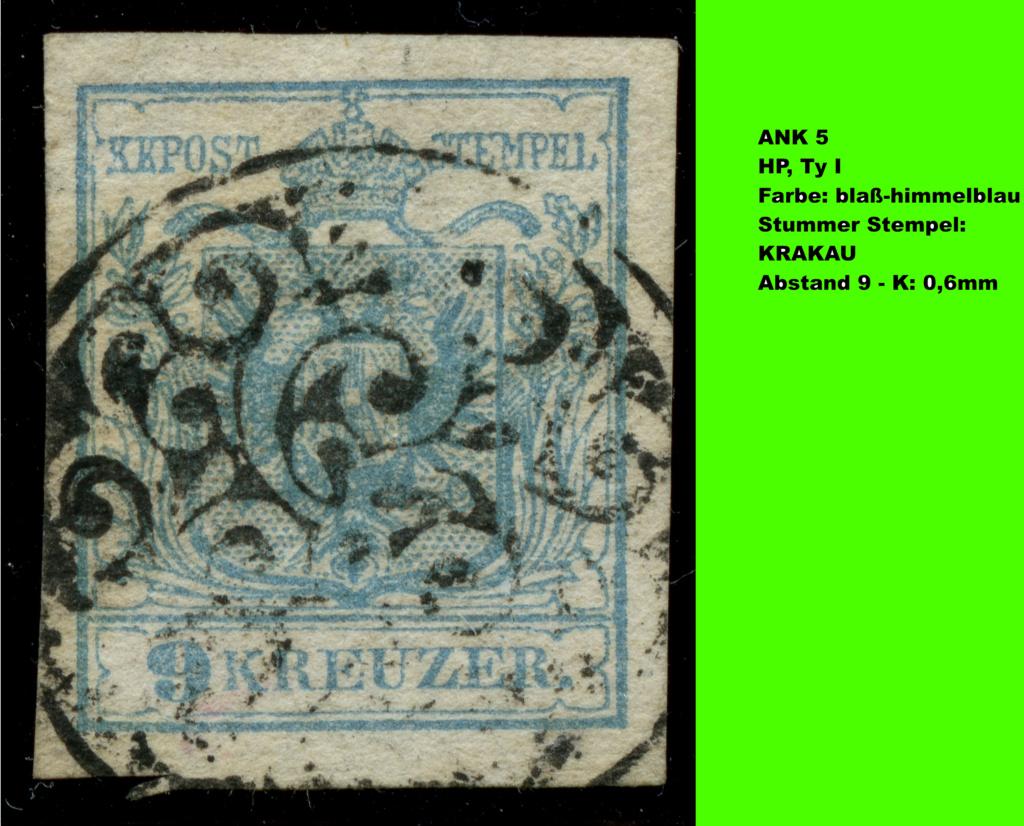 Die erste Österreichische Ausgabe 1850 - Seite 25 Ank5-h10