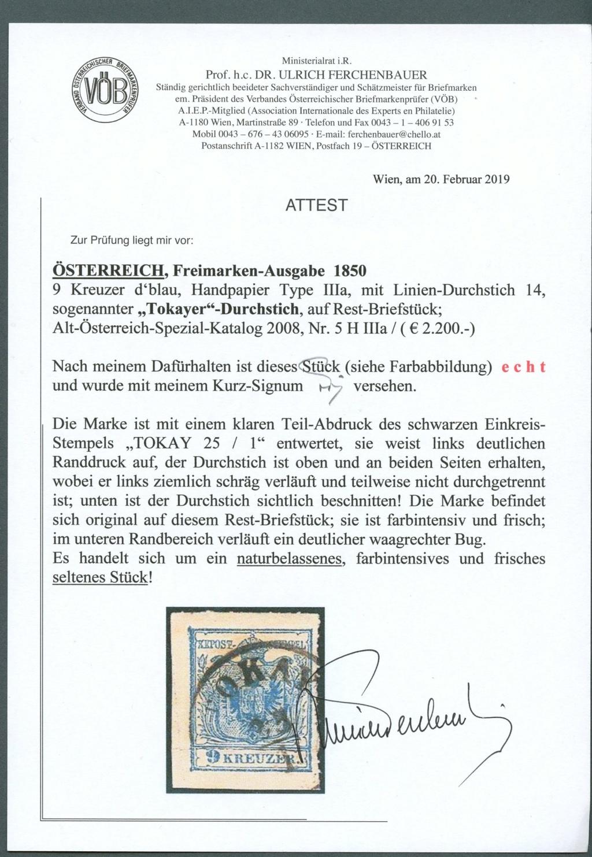 Die erste Österreichische Ausgabe 1850 - Seite 25 Ank5_h12
