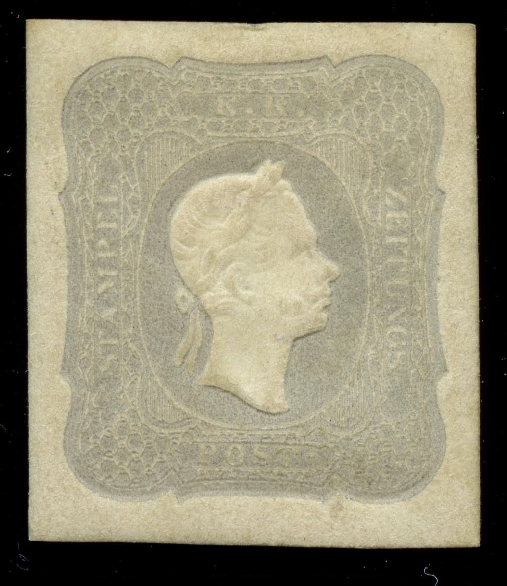 DIE ZEITUNGSMARKEN AUSGABE DES JAHRES 1861 Ank_2311