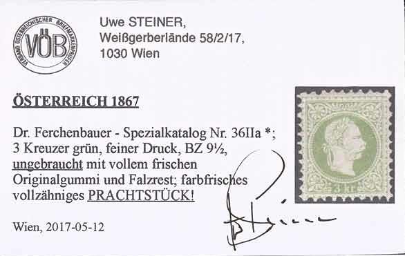 Nachtrag - Freimarken-Ausgabe 1867 : Kopfbildnis Kaiser Franz Joseph I - Seite 22 Ank_3610