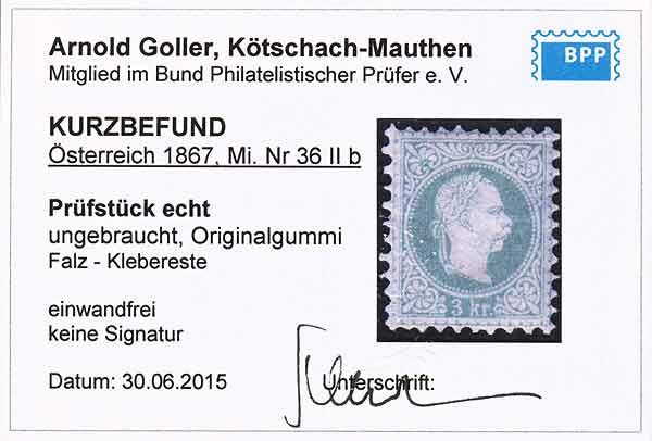 Nachtrag - Freimarken-Ausgabe 1867 : Kopfbildnis Kaiser Franz Joseph I - Seite 22 Ank_3613