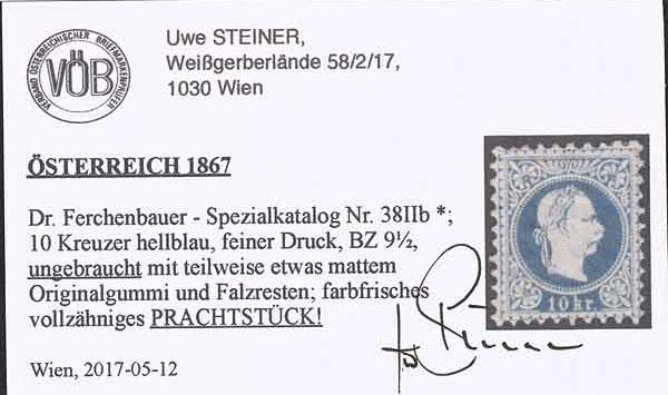 Nachtrag - Freimarken-Ausgabe 1867 : Kopfbildnis Kaiser Franz Joseph I - Seite 22 Ank_3813