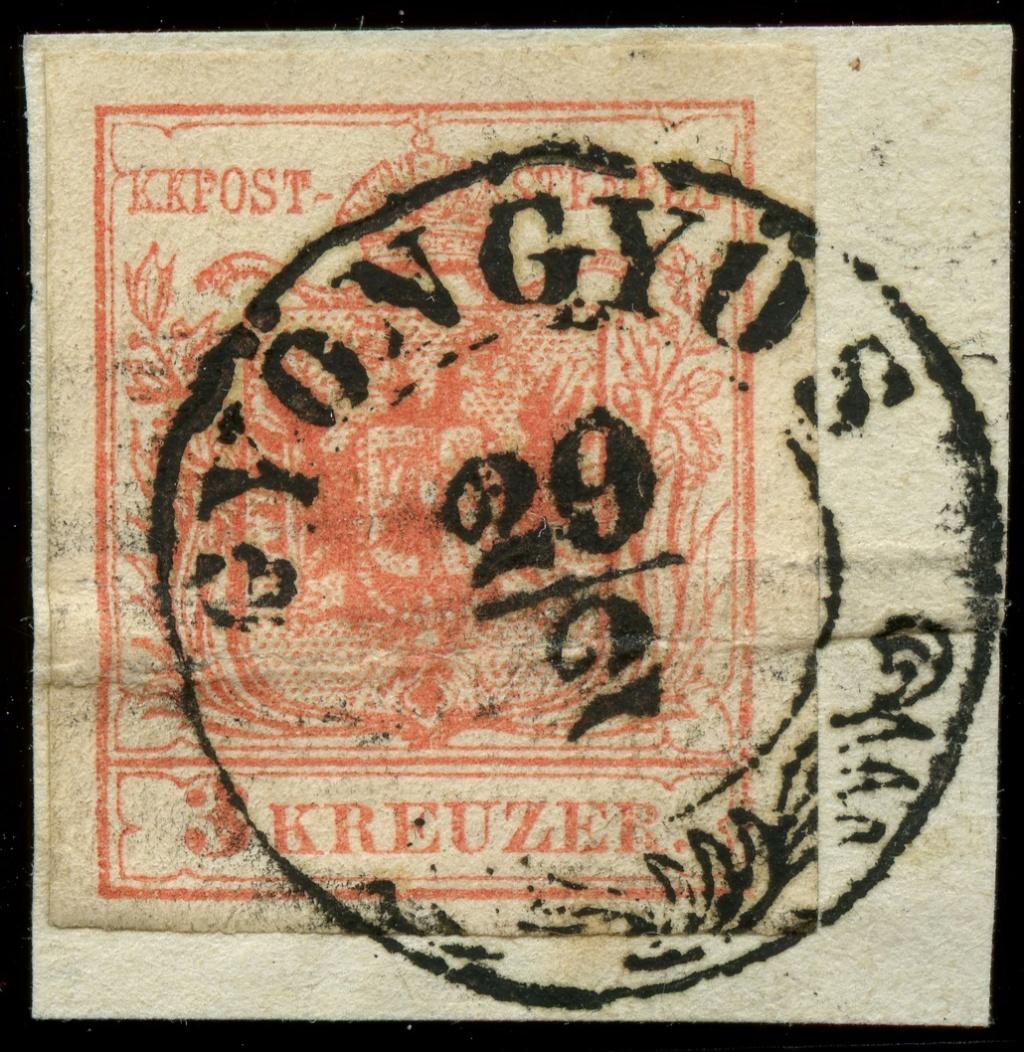 nach - Die erste Österreichische Ausgabe 1850 - Seite 23 Ank_3_11