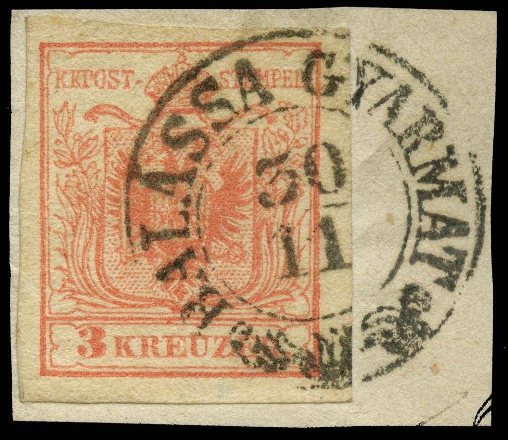nach - Die erste Österreichische Ausgabe 1850 - Seite 23 Ank_3_12