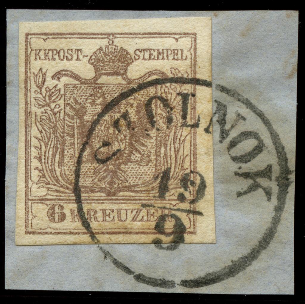 nach - Die erste Österreichische Ausgabe 1850 - Seite 23 Ank_4_11