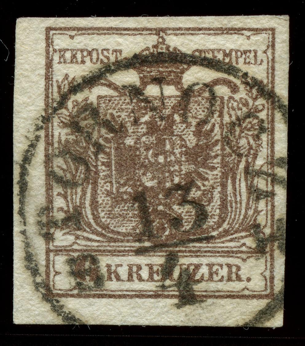nach - Die erste Österreichische Ausgabe 1850 - Seite 24 Ank_4_12