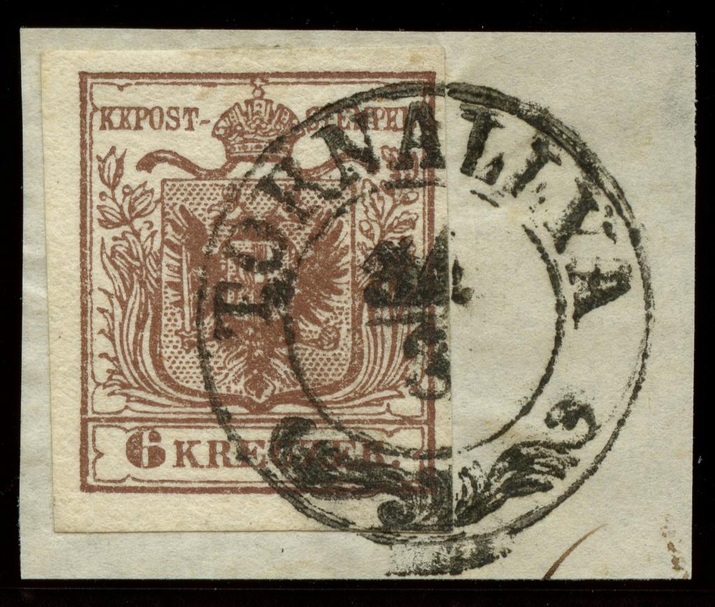 nach - Die erste Österreichische Ausgabe 1850 - Seite 24 Ank_4_13