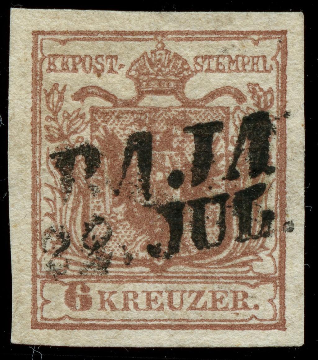nach - Die erste Österreichische Ausgabe 1850 - Seite 24 Ank_4_15