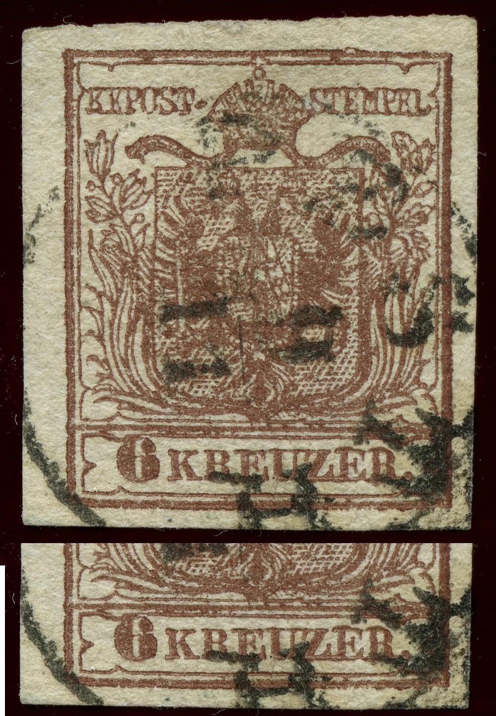 nach - Die erste Österreichische Ausgabe 1850 - Seite 24 Ank_4_16