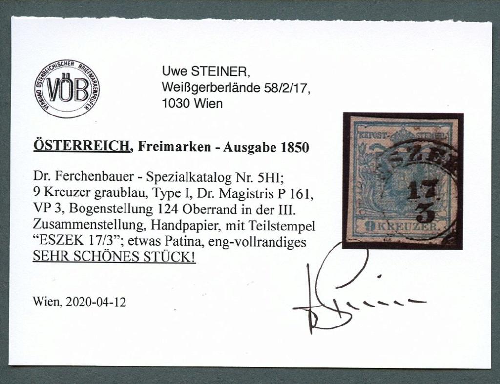 Die erste Österreichische Ausgabe 1850 - Seite 25 Ank_5_14