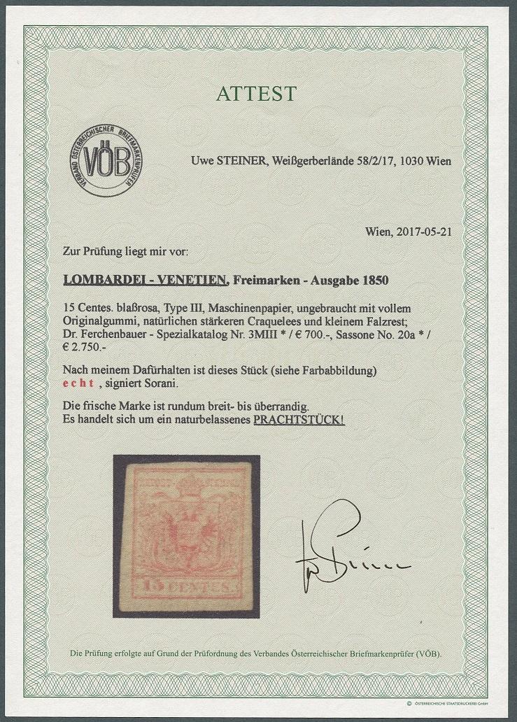 Lombardei - Venetien 1850 - 1858 - Seite 6 Ank_lv12