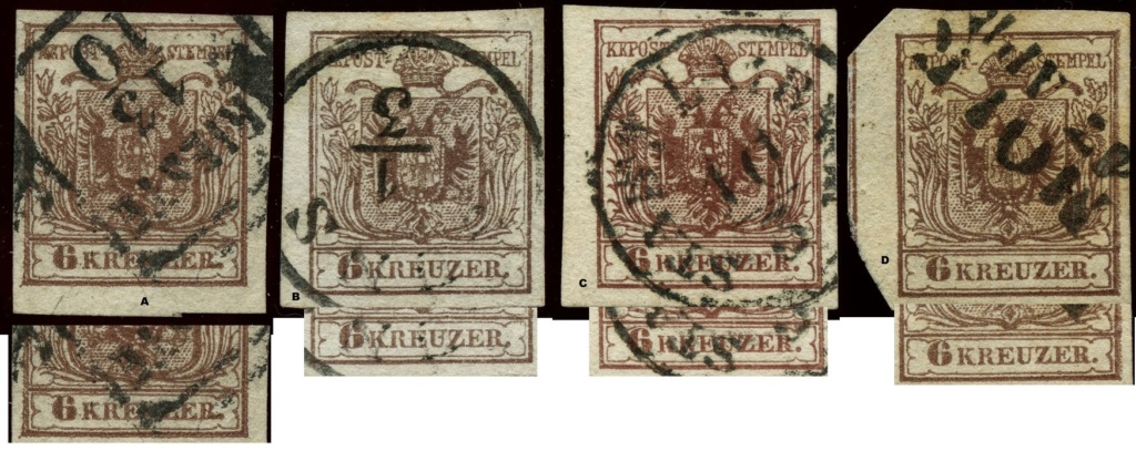 nach - Die erste Österreichische Ausgabe 1850 - Seite 24 Ansich11