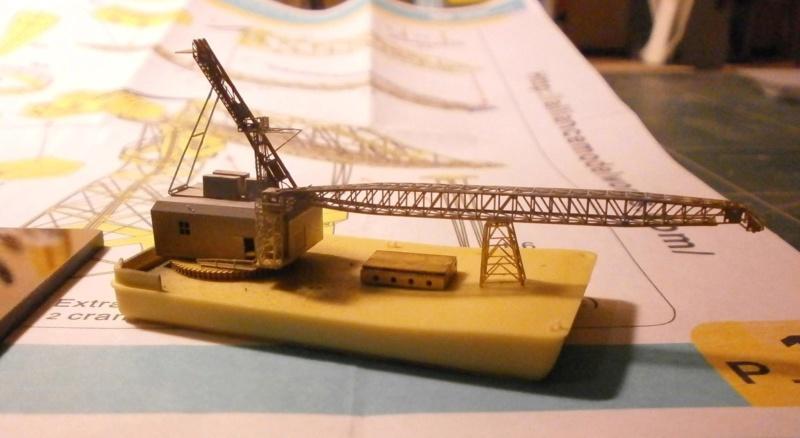 Grues de quais portuaire au 1/350 16064011