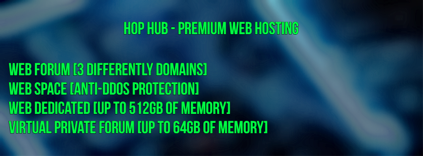Hop Hub - Web Hosting,Root Server,VPF