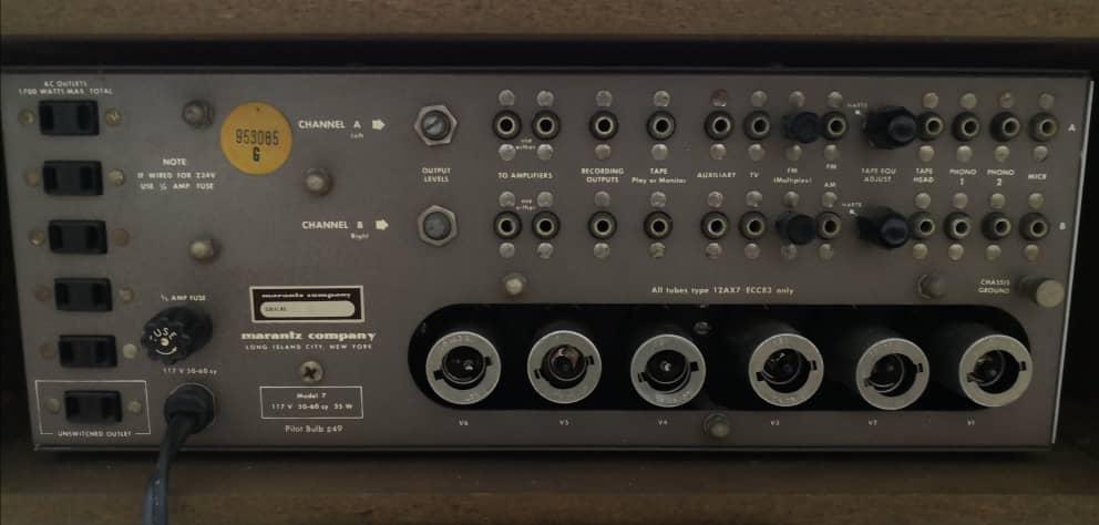 Marantz 7 Pre Amp Img-2093