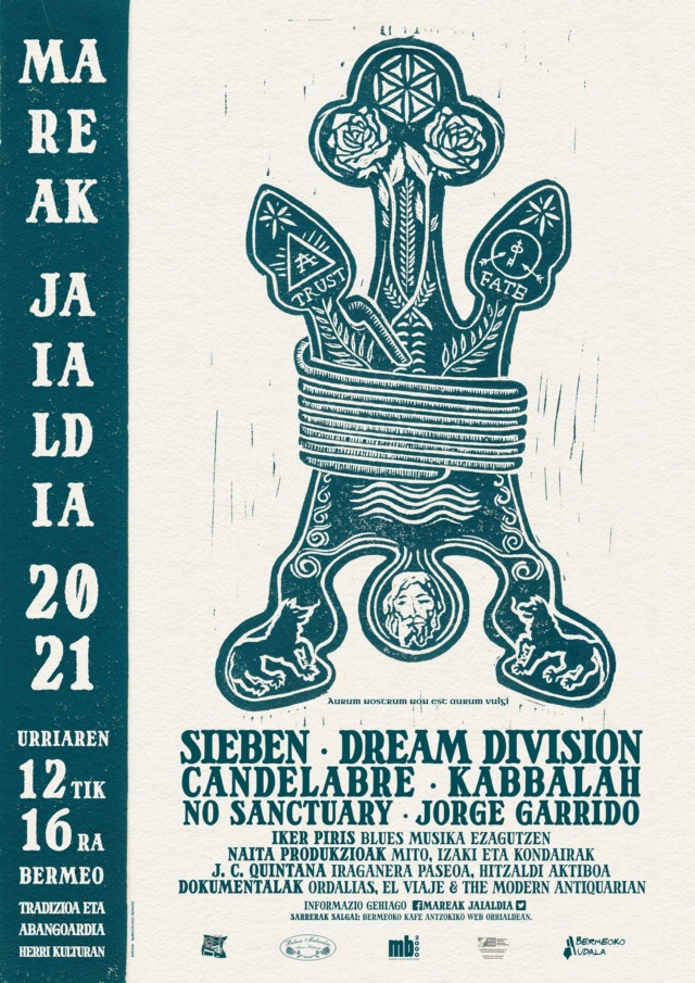 Mareak Jaialdia 2021 (Bermeo) | Urriak 12-16 de Octubre | Sieben + Kabbalah + No Sanctuary // Dream Division // Candèlabre 24200110