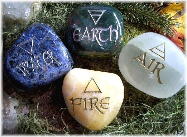 Камни стихии Огня, Воды, Воздуха и Земли 4db15d10