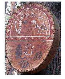 Бубен шамана и посвящение в шаманы Shaman11