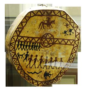 Бубен шамана и посвящение в шаманы Shaman13