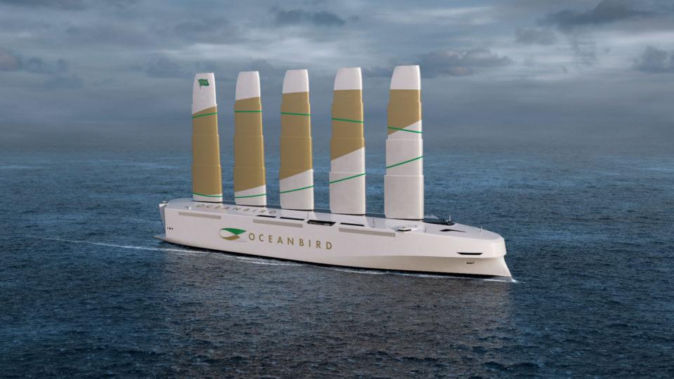 Экологичный корабль для перевозки автомобилей. Wallenius Marine, KTH. Швеция Oceanb10
