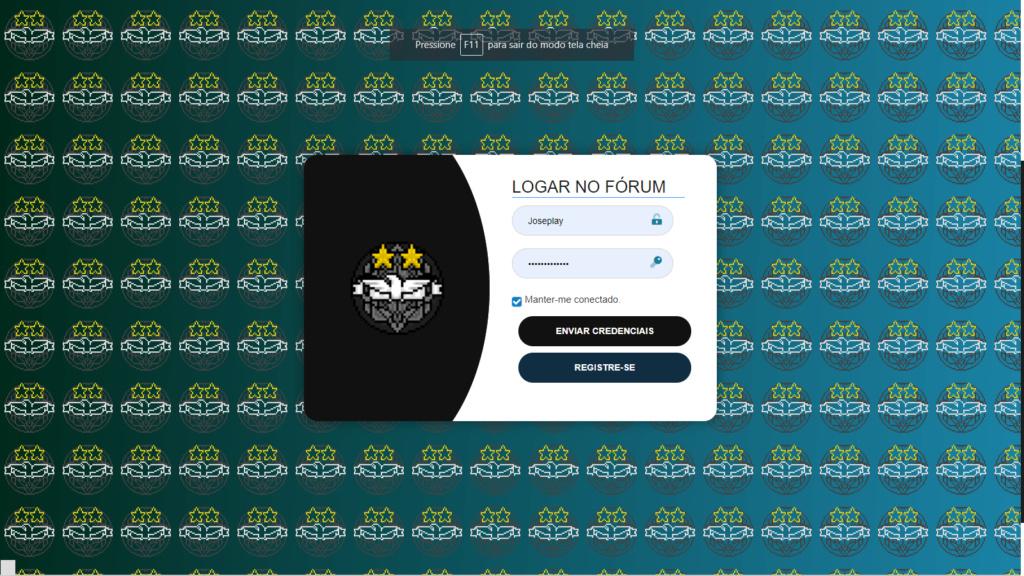 Página de login customizada 98110