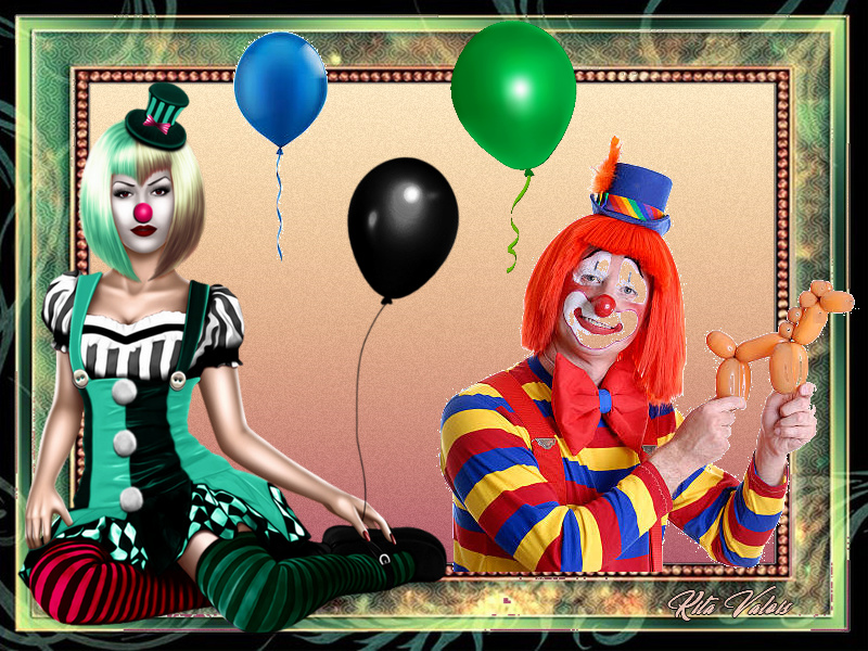 Défi du 11-12 Novembre / Femme clown Sans_t11