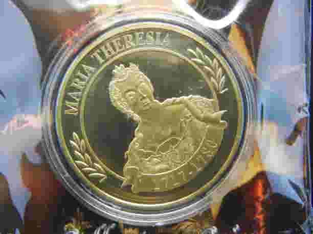 Moneda conmemorativa de Maria Teresa I 76982810