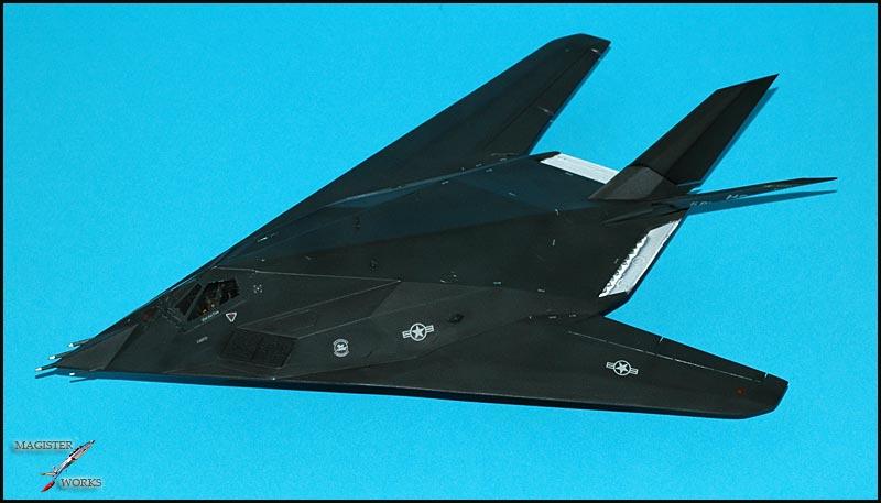 F-117A NightHawk origine Airfix Photo244