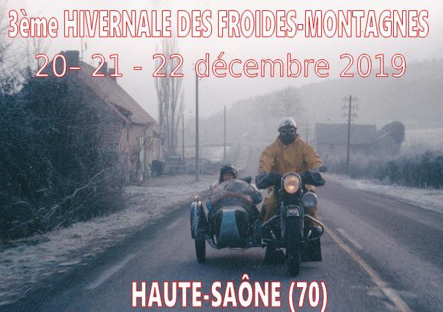 3 ème Hivernale des Froides-Montagnes 2019. Affich12