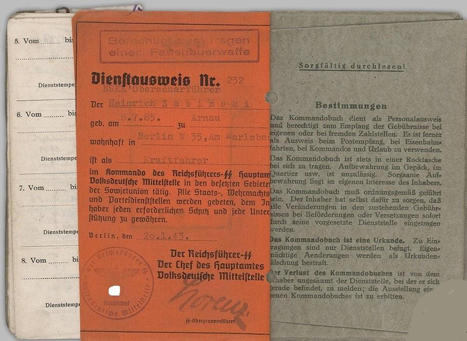 """KommandoBuch"" (1942-1944) 1010"