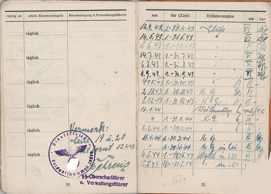 """KommandoBuch"" (1942-1944) 610"