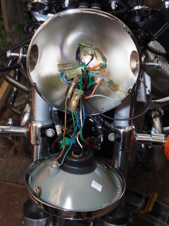 Scheinwerfer H4 CX500C - Ersatz P1140010