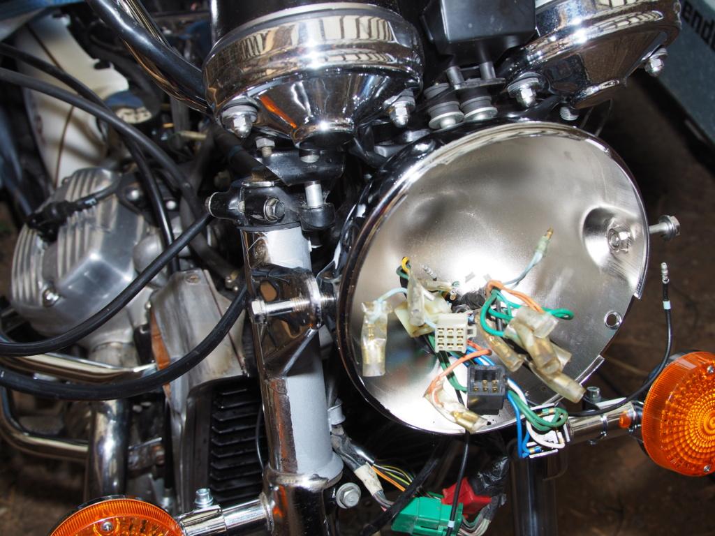Scheinwerfer H4 CX500C - Ersatz P1140011