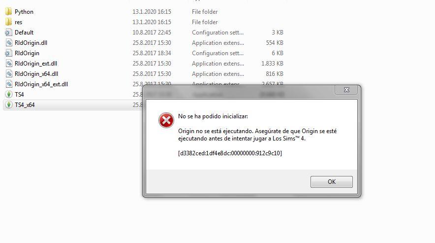 The sims 4 Toddlers Stuff won't open - origin problem Captur13
