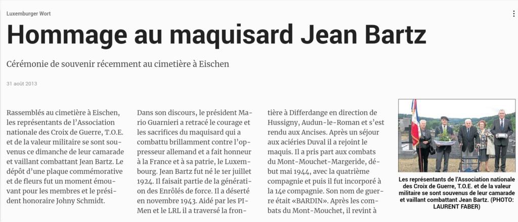 Jean BARTZ nous a quitté ce 15 décembre 2011 Screen15