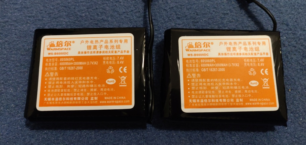 Batterie HS gants chauffants Racer Img_2032