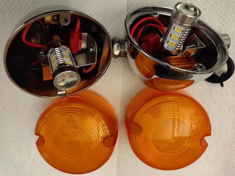 Clignotants ampoules LED 1340 Softail Sportster autre Photo210