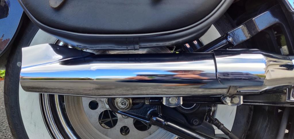 Pots d'échappements Harley-Davidson Softail 1340 Fishtail Photo211