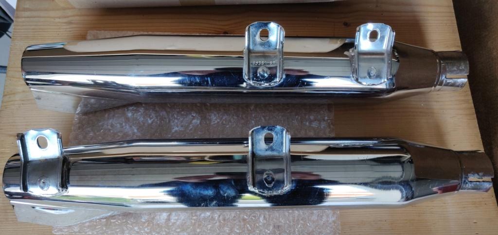 Pots d'échappements Harley-Davidson Softail 1340 Fishtail Photo510
