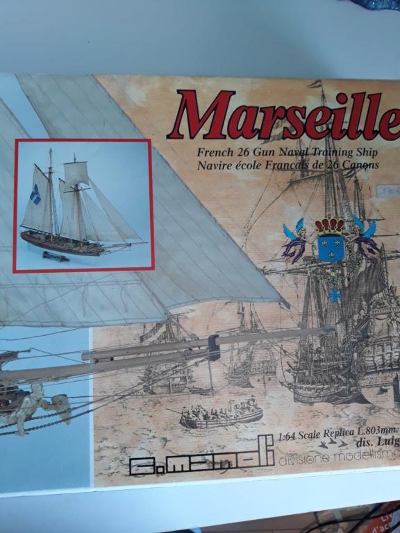 Goélette Marseille 1764 (Mamoli 1/64°) par Djodjo  20200925