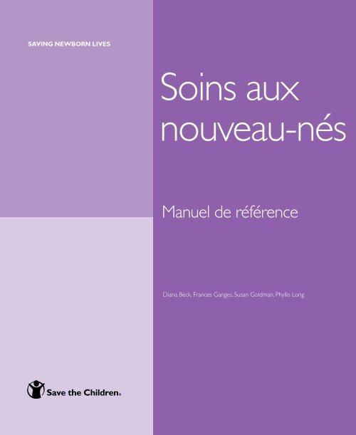 Soins aux Nouveaux nés : Manuel de reference Manuel10
