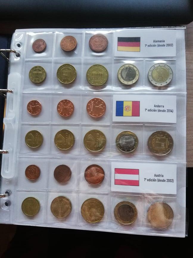 Opiniones hojas NUMIS para series de euros 10079313