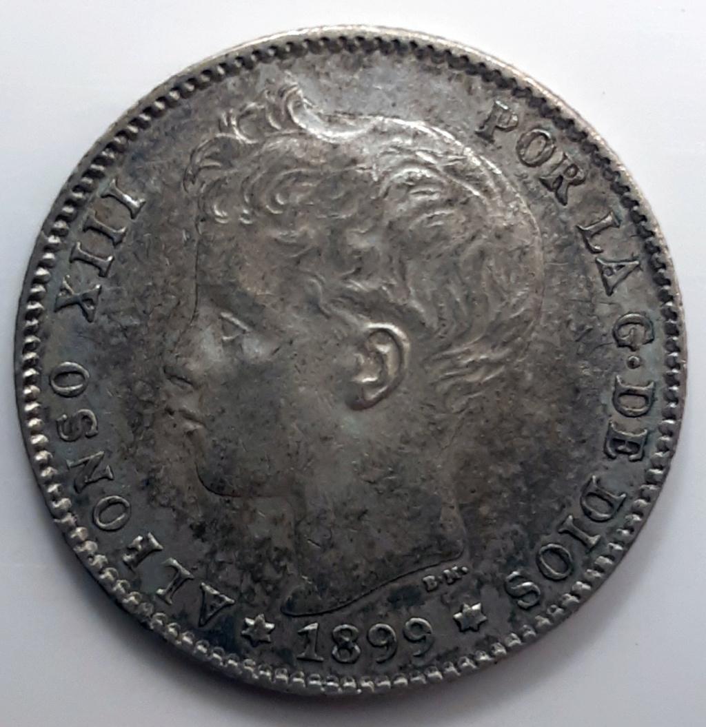 1 peseta 1899, variante ¿1-*18*? 110