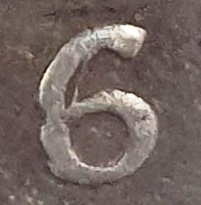 8 reales 1786. Carlos III. Potosí. Flan grande 6-510