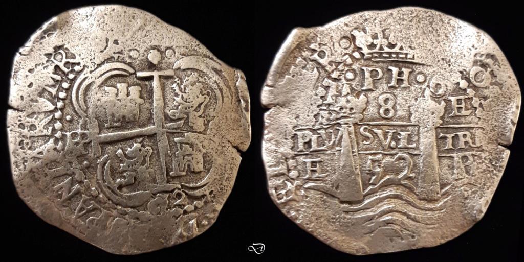 8 reales 1652 potosí - IPH6 8r_p1610