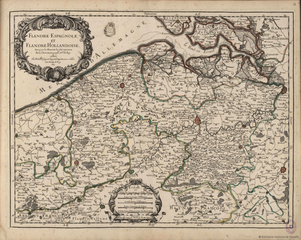 1 patagón de 1653, ⚜ Brujas. _carte10