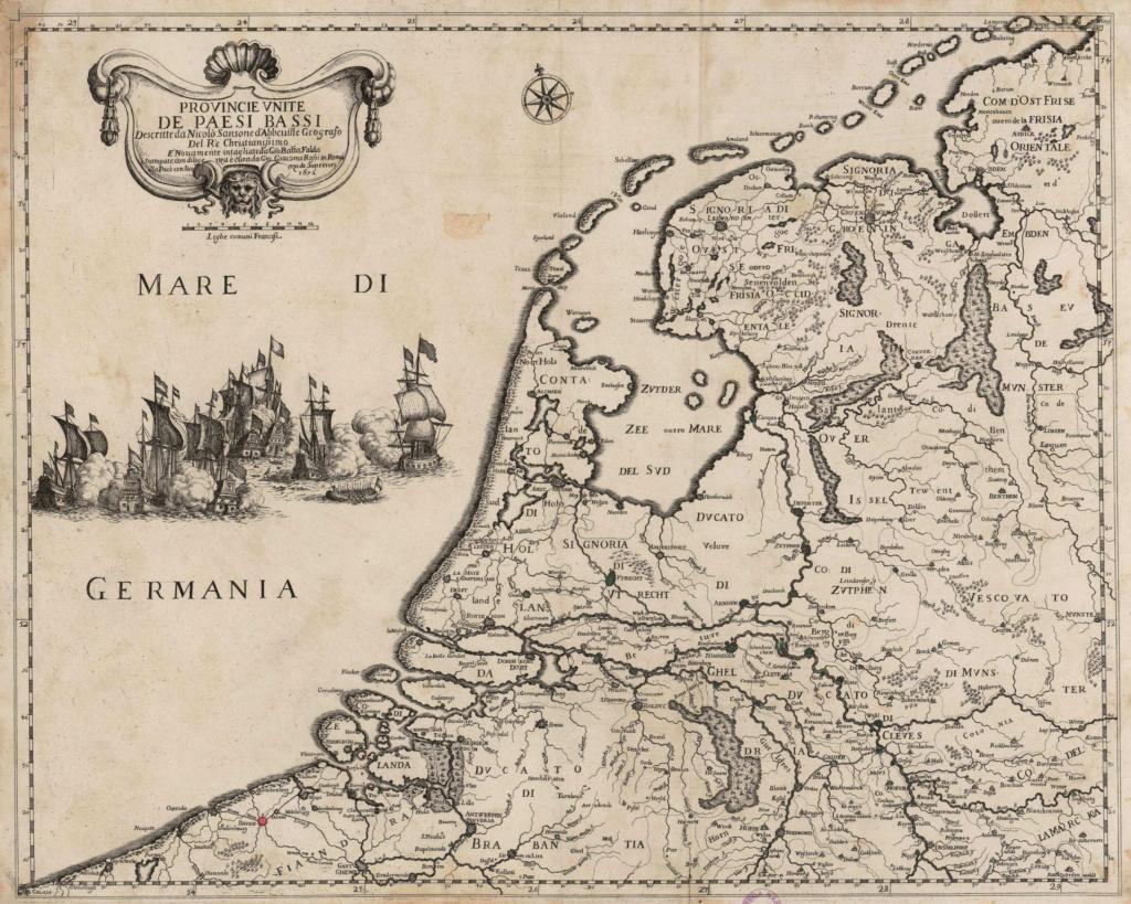 1 patagón de 1653, ⚜ Brujas. _carte11