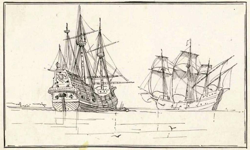 8 Reales de 1652 y el relato del naufragio de la Capitana _galeo10