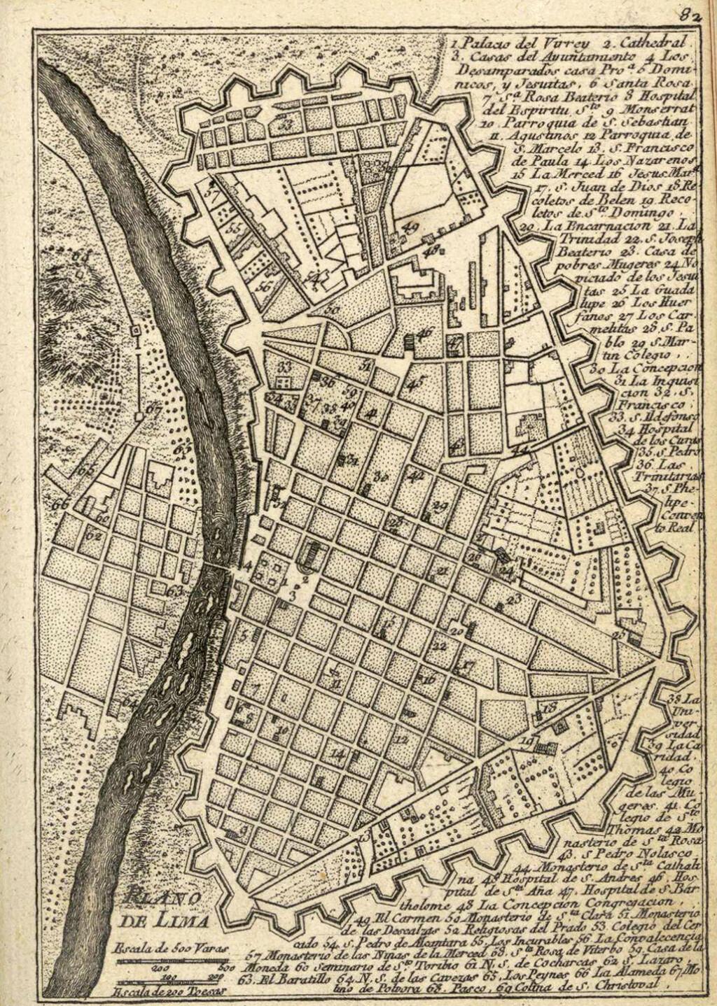 8 Reales 1772, Lima. El último columnario (a volante). Lima_210