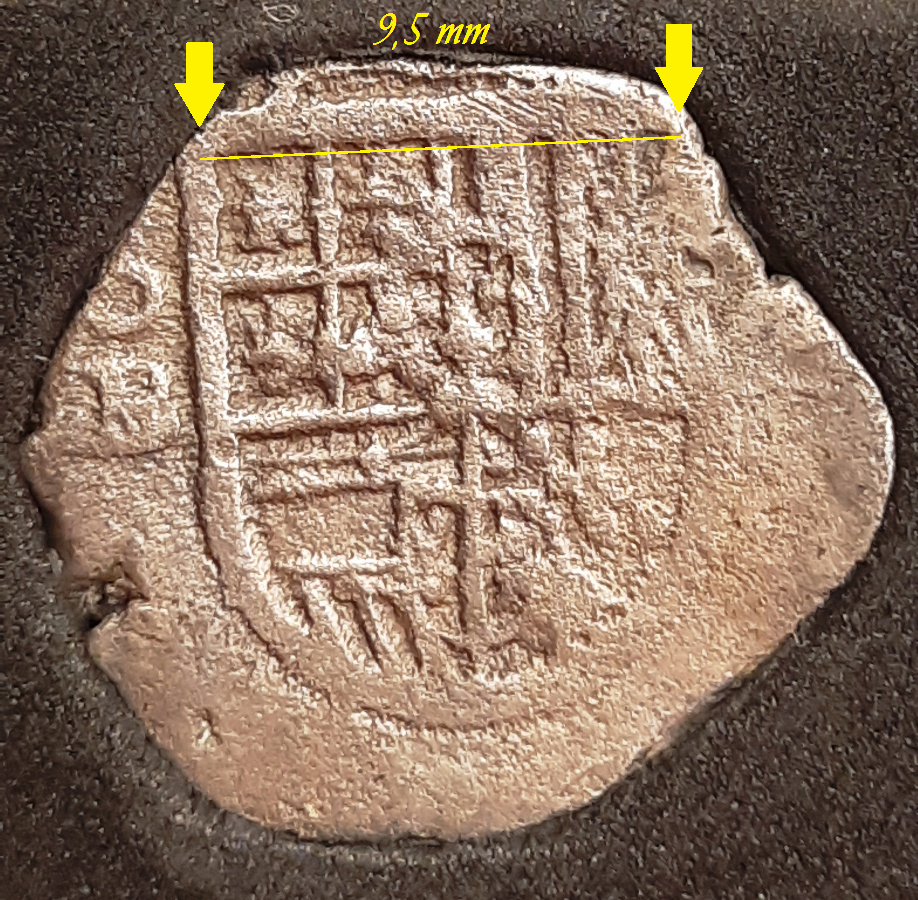 1 real. Sevilla. Felipe III- 1606??? - Ensayador B Longit10